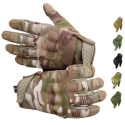 Multifunction sport gloves - touch screen function - anti-skid - full fingers
