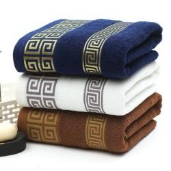 Luxurious bath / beach towel - Turkish embroidery - cotton