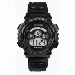 G-Sport digital kids watch - waterproof - LED