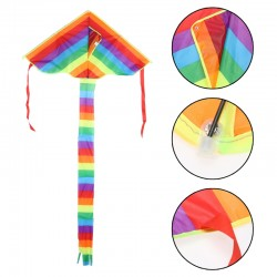 Rainbow triangle children's kite