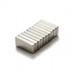 N35 Neodymium rectangular magnet 10 * 5 * 2 mm 10 pieces