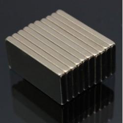 N52 Neodymium Magnet Strong Block 20 * 10 * 2mm 10pcs