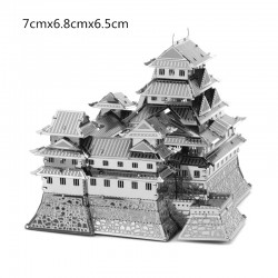 3D Himeji Castle Metal DIY Puzzle Construction Kit |
