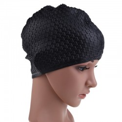 Unisex Flexible Waterproof Silicon Swimming Cap