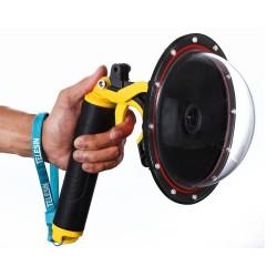 "TELESIN 6"" Waterproof Case Floating Trigger for GoPro Hero 4 3 3+ Lens Dome Cover Housing"