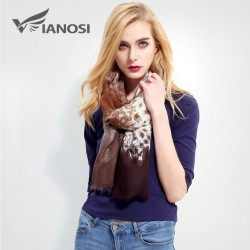 VIANOSI Luxury Fashion Bandana Printed Scarf