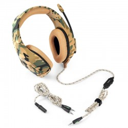 PS4 PC Computer Xbox One - camouflage headphones - headset with microphone