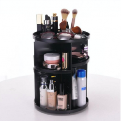 360 rotating make up & cosmetic storage box organizer
