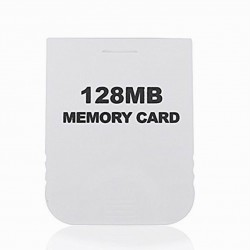 Wii 128 MB Memory Card Gamecube