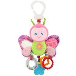Hanging rattle toy for baby