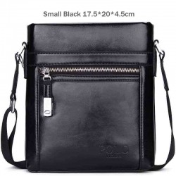 Classic POLO - waxy leather crossbody shoulder bag
