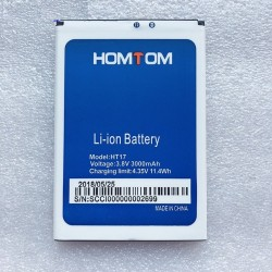 Original HOMTOM HT17 - high quality 3000mAh backup battery