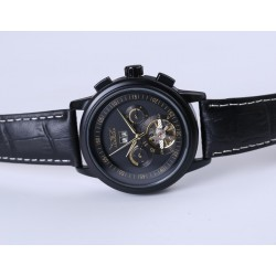 Leather mechanical automatic watch