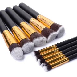 Set of makeup brushes 10 / 11 pcs