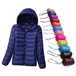 Winter down jacket - warm - ultralight