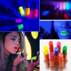 Fluorescent lipstick - luminous in dark