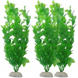 Aquarium artificial green grass - plant 26 cm