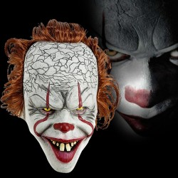 Clown mask - Halloween mask - full face