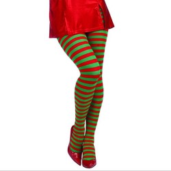Xmas elf - striped stockings