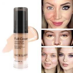 Full cover - liquid concealer makeup - smoothing - waterproof base 6ml