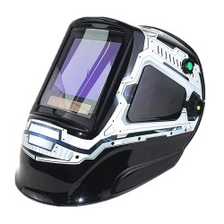 Auto darkening welding helmet - mask - 3 view windows - DIN 4-13 - 5 sensors CE
